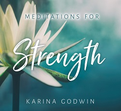Karina Godwin CD cover Strength for WEb